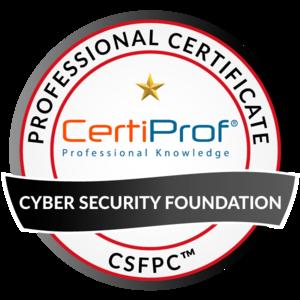 Cyber Security Foundation Professional Certificate - CSFPC Exam Voucher
