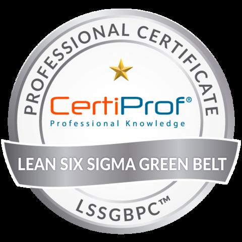 Lean Six Sigma Green Belt Professional Certificate - LSSGBPC Exam Voucher